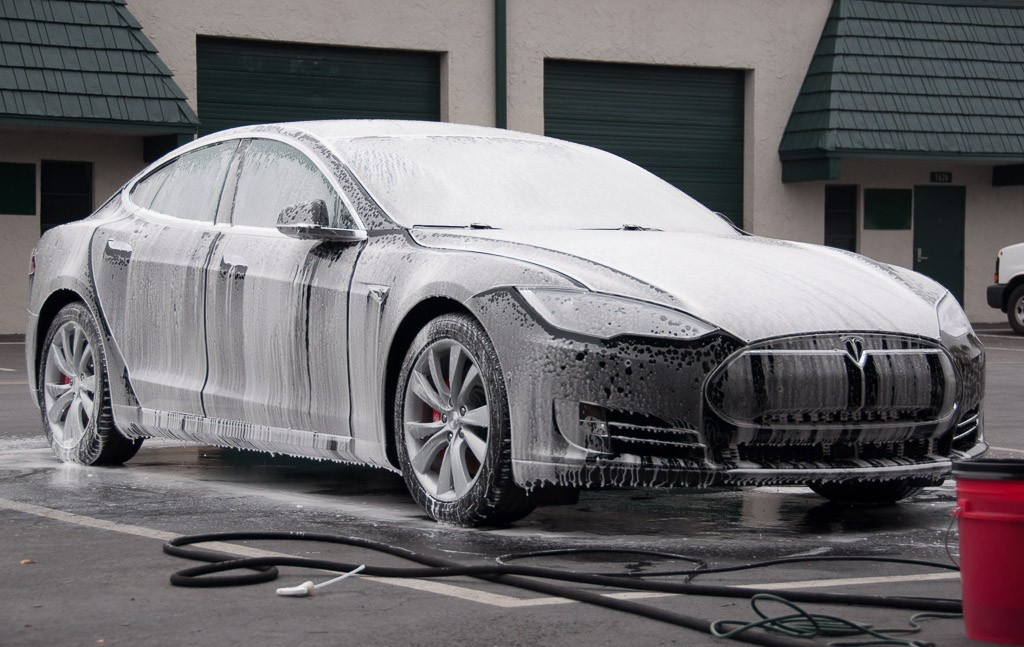 Tesla Model S Decontamination at Superior Detailer Orlando, Florida